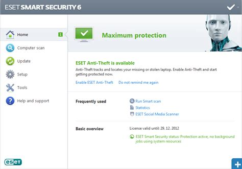 eset nod32 antivirus full version username and password eset nod32 smart security 6 full version with username and