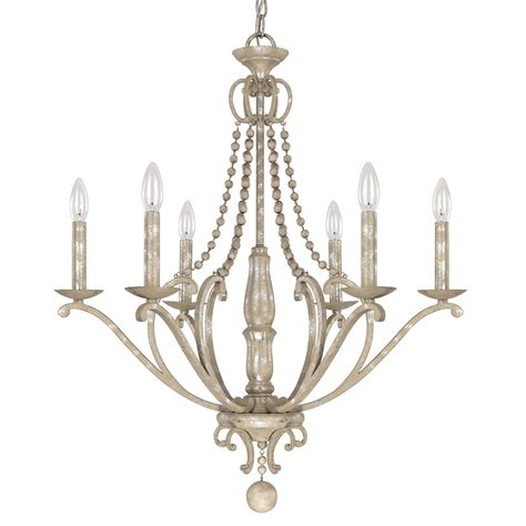 Silver Chandelier Light Capital Lighting Fixture Company Adele Silver Quartz Six