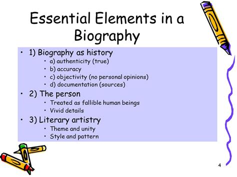 self biography definition biographies nonfiction definition ppt video online download
