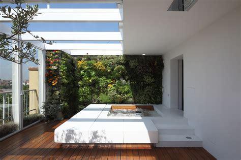 Apartment Vertical Garden Vertical Gardens Blend Interior With Exterior In This
