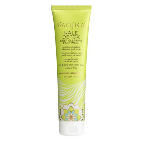 Pacifica Kale Detox Mask by Kale Detox Cleaning Wash Pacifica