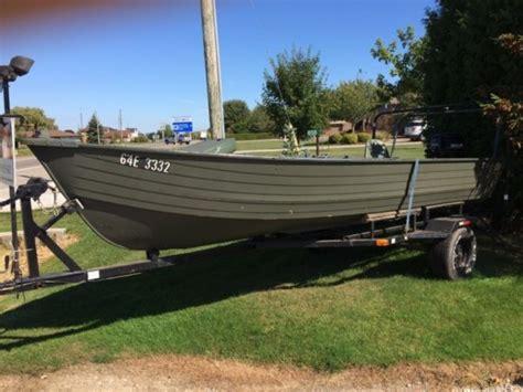 crestliner deep v boats other 16 aluminum for sale canada