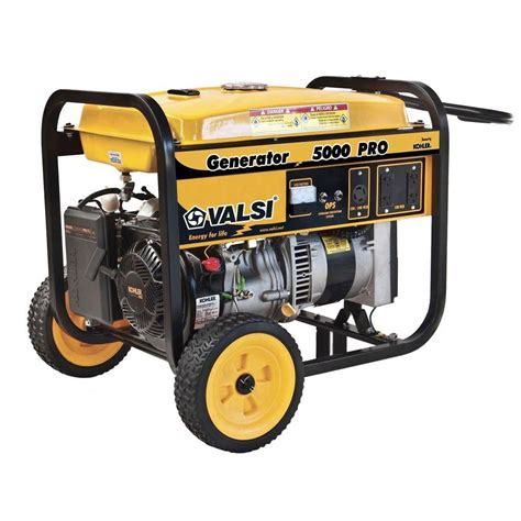 valsi 5 000 watt kohler command gasoline powered pro