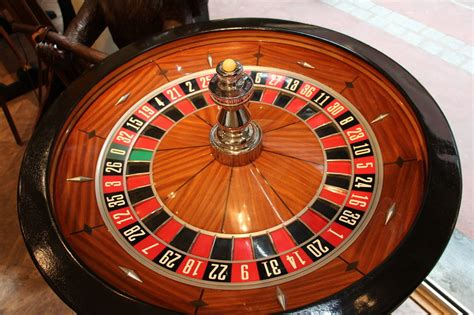 Home Fashion Interiors by Mahogany And Black Wood Casino Roulette Wheel By John