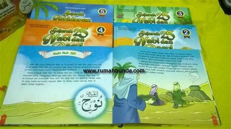 Buku Anak Rakyat Seri Nabi seri buku anak sejarah 25 nabi rasul rumah bunda