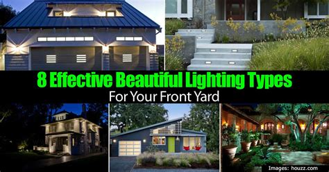 lights in yard 8 effective beautiful front yard lighting ideas for your home