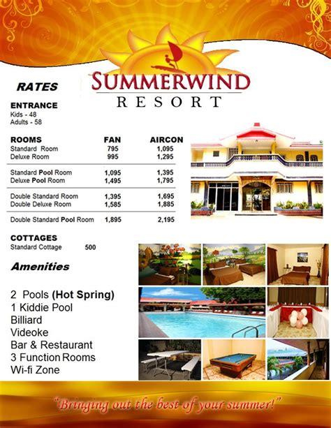 be resorts room rates summerwind resort in pansol calamba laguna summerwind resort rates