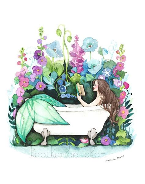 mermaid bathtub 25 best ideas about watercolor mermaid on pinterest mermaid art mermaids and