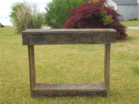 barn wood sofa table sofa table design barnwood sofa table astounding design