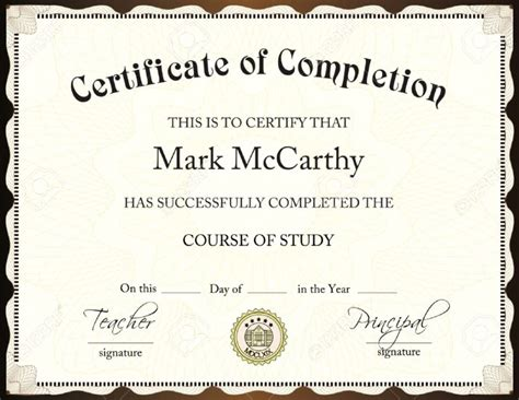 training certificate format word doc copy sample sales proposal