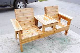 Patio Chair Plans Free Patio Chair Plans How To Build A Chair Bench With Table
