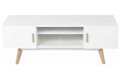 tele pavia web meuble tv blanc plaqu 233 bois t 233 odora declikdeco