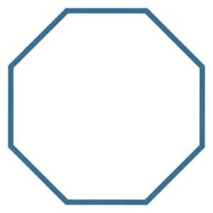 Octagon Shape Template by Best Photos Of Octagon Cut Out Template Octagon Shape