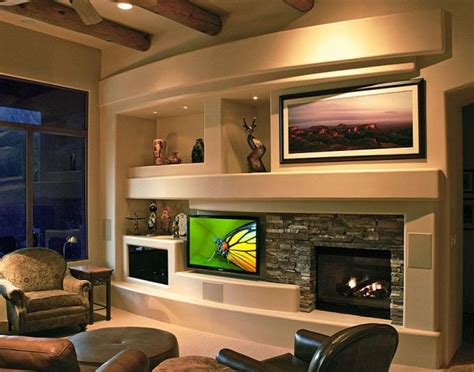 media wall ideas 14 breathtaking gypsum board and niches for tv wall unit