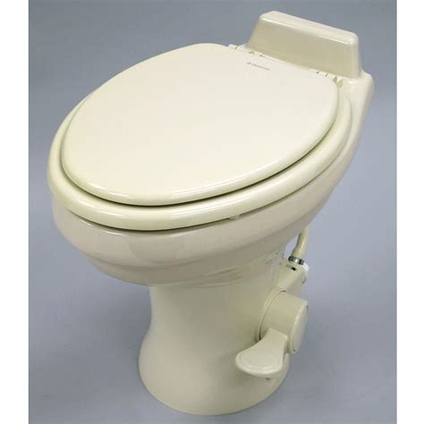 Rv Toilet Plumbing by Dometic High Profile 320 Series Gravity Discharge Toilets Bone Dometic 302320083 Rv