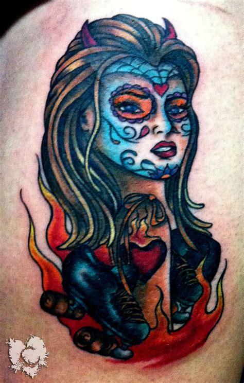 ceejay daya the dread color dia de muertos eternal inks
