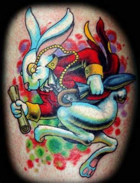 cartoon rabbit tattoo cartoon rabbit tattoo tattoo from itattooz