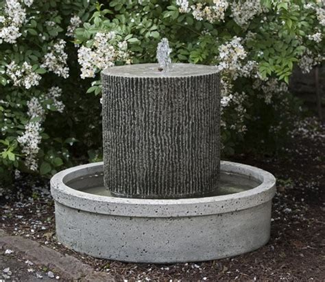 modern water fountain outdoor garden water features contemporary outdoor