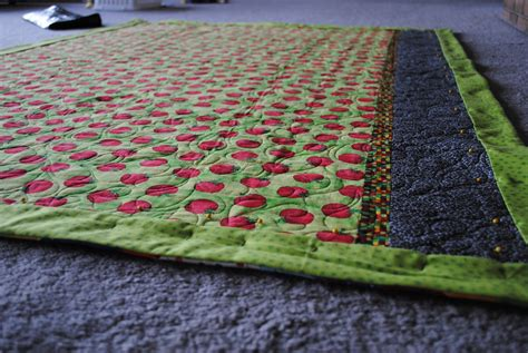 Patchwork Binding - patchwork playground no show quilt binding