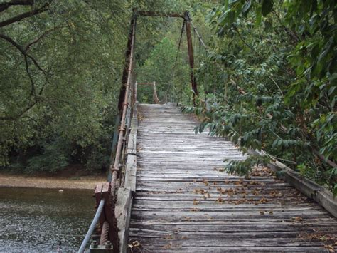bridge swinging elkhurst swinging bridge historicbridges org