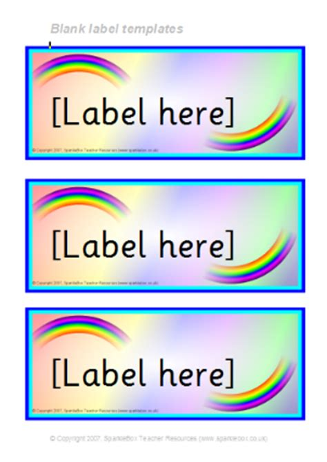 Tray Labels Template themed editable classroom labels for primary school