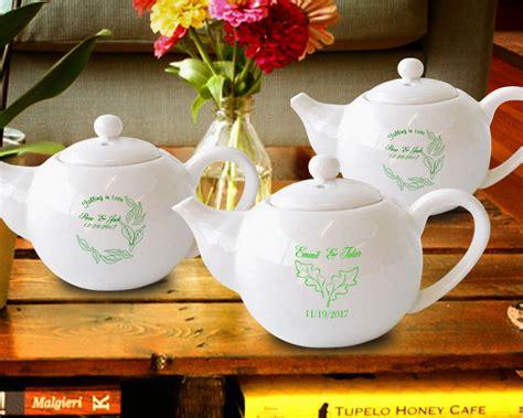 Custom Mini Teapots by Fall In Personalized Mini Tea Pots Favors 4 5 Oz