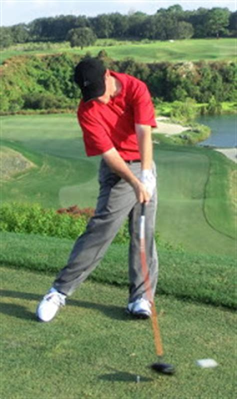 back of left hand in golf swing gravity golf golf instruction golf lessons orlando