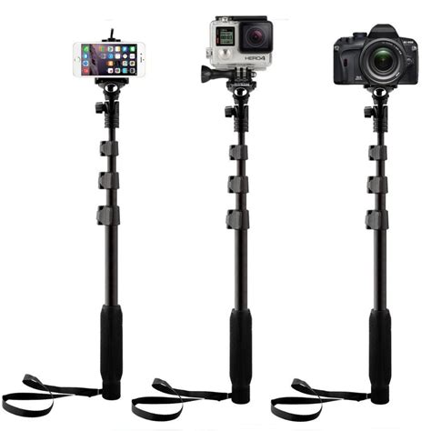 Ro5 Tongsis Remote Selfie Tripod Monopod Controller For Iphone 3 in 1 yunteng 188 selfie stick with bluetooth remote self wireless mobile phone tripod