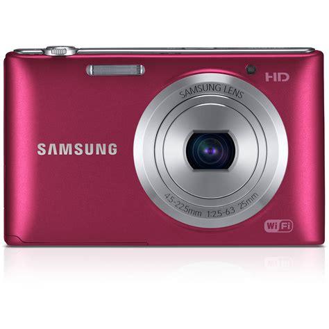 Kamera Digital Samsung St150f samsung st150f smart digital ec st150fbprus b h