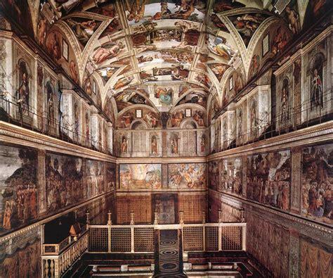 Chappel by Michelangelo Renaissance Art Paintings Browse Ideas
