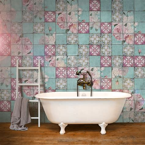 badezimmer deko rosa die besten 17 ideen zu rosa fliesen auf