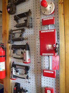 nail gun storage cabinet workshop tool organization