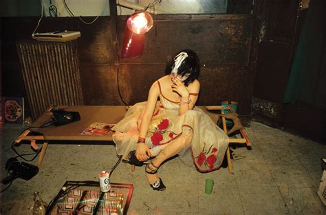 nan goldin the ballad photographs from the ballad of sexual dependency book vogue