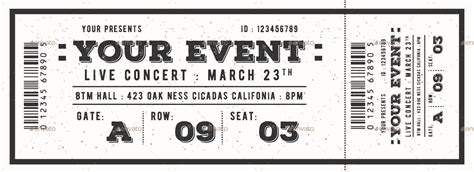K Fed Cant Even Give Tickets Away To His Concerts by Vintage Event Ticket By Lilynthesweetpea Graphicriver