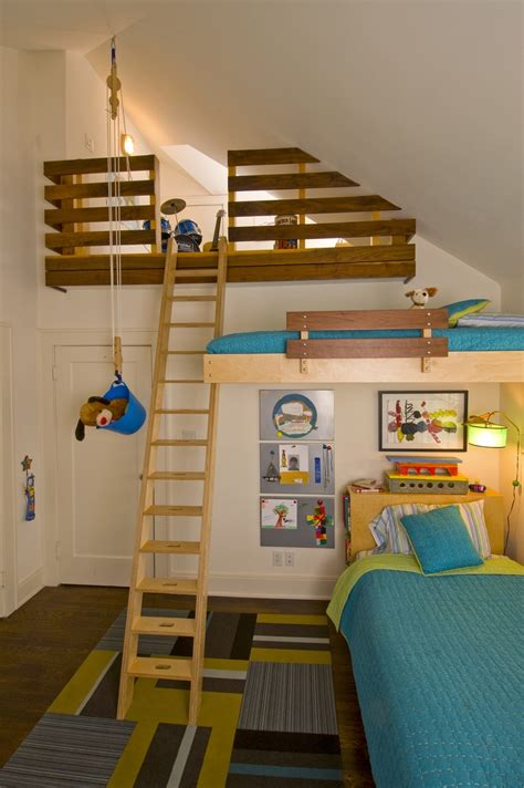 awesome bedrooms for kids awesome kids room would be cool with a slide also cool