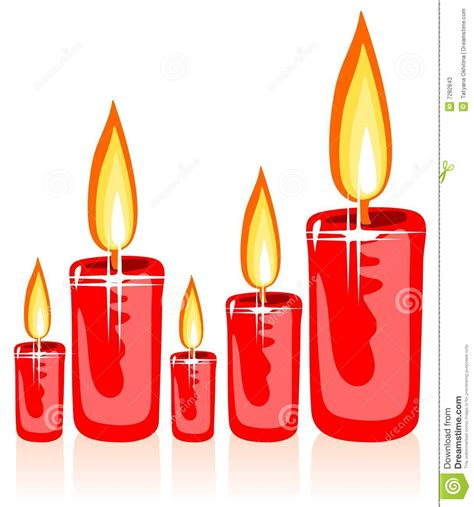 immagini di candele di natale candele di natale fotografie stock immagine 7282843