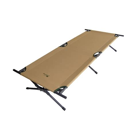comfortable cots ore international 15 inch brown cing cot fitness