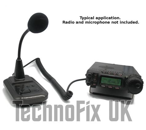 Deskmic Adonis Am 5024 Pin cable for adonis microphones 8 pin to 8p8c rj45 for yaesu technofix uk