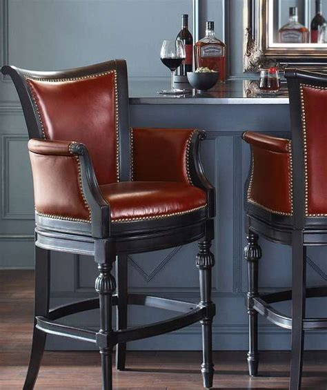 Chesterfield Leather Bar Stools by Chesterfield Swivel Bar And Counter Stools Bar Stool