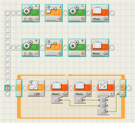 labview tutorial lego mindstorm multithreading how to quot join threads quot with lego