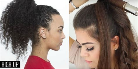 Ponytail Hairstyles For Easy by 11 Easy Ponytail Hairstyles Best Ideas For Ponytail Styles