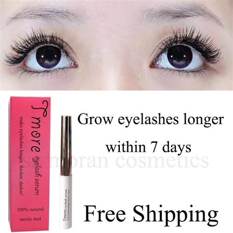 7 Best Products For Longer Lashes by Tmore Eyelash Serum For Longer Eyelashes In 7 Days T W