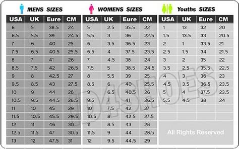 shoe size chart jordans nike air jordan retro xi 11 gamma blue 100 authentic size