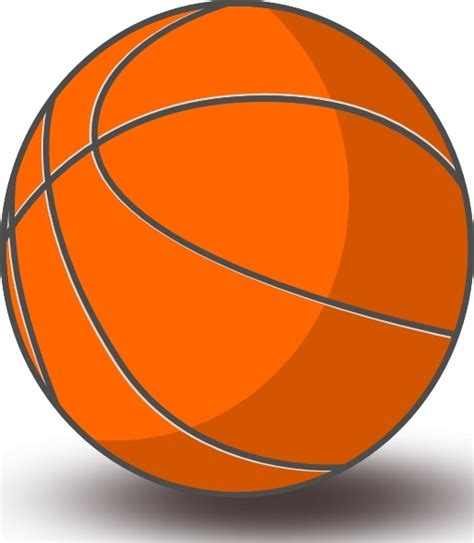 free clipart basketball basketball clip free vector in open office drawing svg