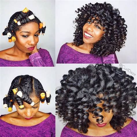 perm rod set using ors lock and twist gel and premium 1000 images about natural hair tutorials and natural hair