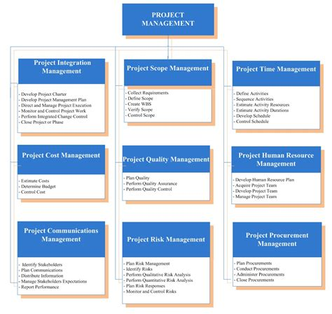 project management plan template pmbok
