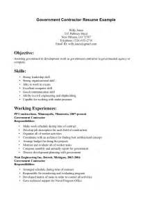 federal resume sle contractor it resume sales contractor lewesmr