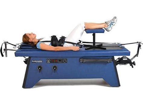 New Hill Laboratories Co Anatamotor Traction Chiropractic Chiropractic Traction Table