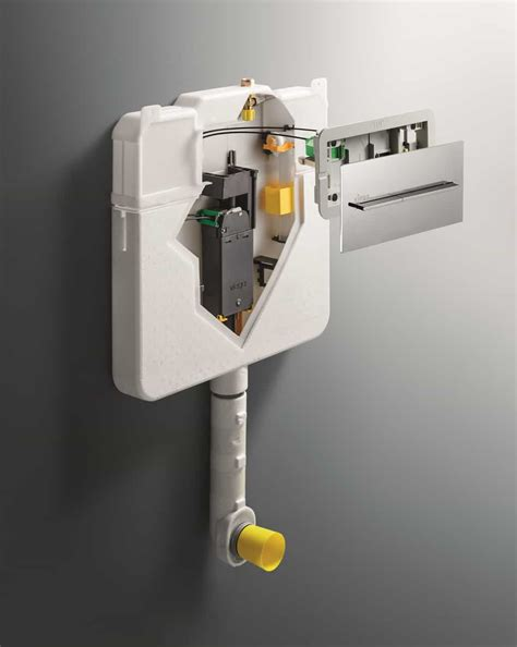 Commode Not Flushing Completely by Concealed Cisterns Plumbing Connection