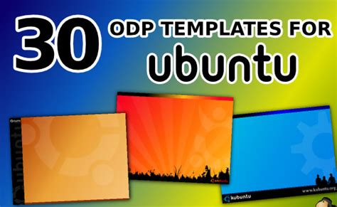 Free Openoffice And Libreoffice Templates For Impress Powerpoint Presentation Open Office Templates Presentation